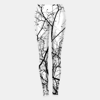 Thumbnail image of Branches in black and white Leggings, Live Heroes