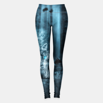 Miniatur Midnight Wolf Leggings, Live Heroes
