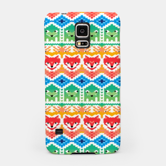 Thumbnail image of Fair Isle Foxes and Monsters – Samsung Case, Live Heroes