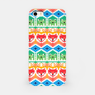 Thumbnail image of Fair Isle Foxes and Monsters – iPhone Case, Live Heroes