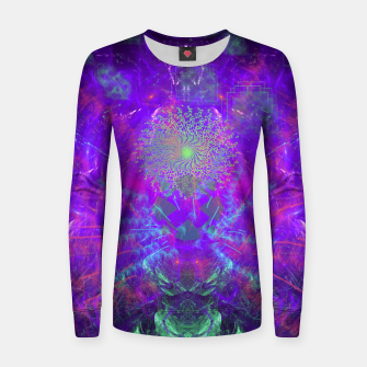 Thumbnail image of Thought Broadcasting Women sweater, Live Heroes