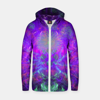 Thumbnail image of Thought Broadcasting Zip up hoodie, Live Heroes