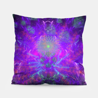 Thumbnail image of Thought Broadcasting Pillow, Live Heroes
