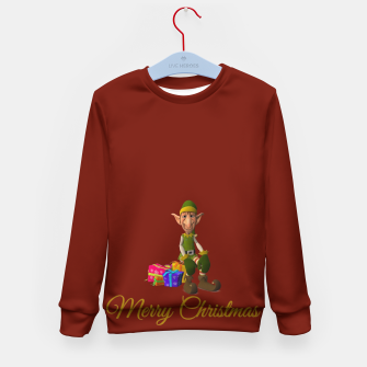 Thumbnail image of UGLY CHRISTMAS SWEATER Kid's sweater, Live Heroes
