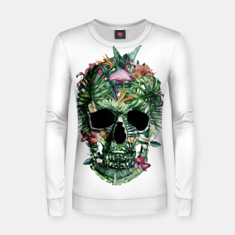 Tropical Skull Women sweater thumbnail image