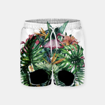 Tropical Skull Swim Shorts thumbnail image