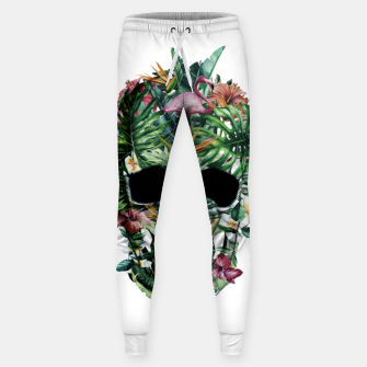 Tropical Skull Sweatpants thumbnail image