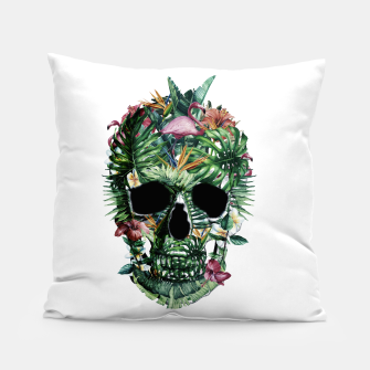 Tropical Skull Pillow thumbnail image
