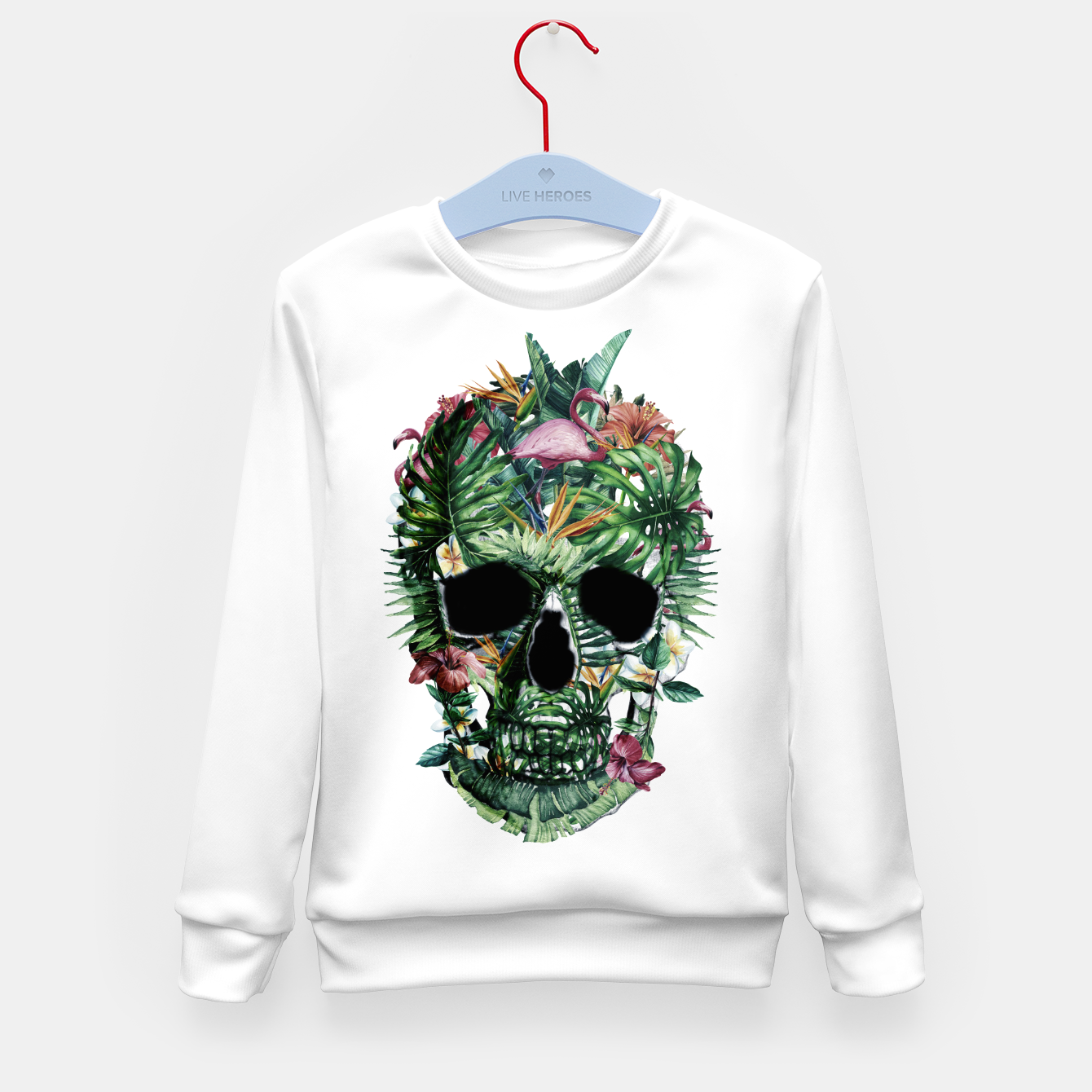 Image of Tropical Skull Kid's sweater - Live Heroes