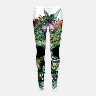 Tropical Skull Girl's leggings thumbnail image