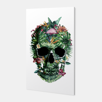 Tropical Skull Canvas thumbnail image