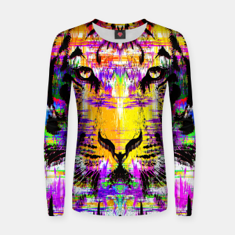 Thumbnail image of Tiger Glitch Sweater, Live Heroes
