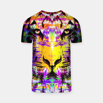 Thumbnail image of Tiger Glitch Tshirt, Live Heroes