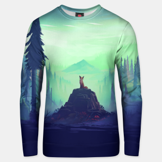 Fantasy Fox Unisex sweater thumbnail image