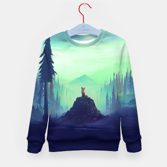 Miniature de image de Fantasy Fox Kid's sweater, Live Heroes
