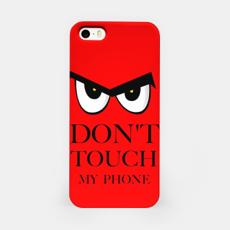 Thumbnail image of Dont Touch My Phone iPhone Case, Live Heroes