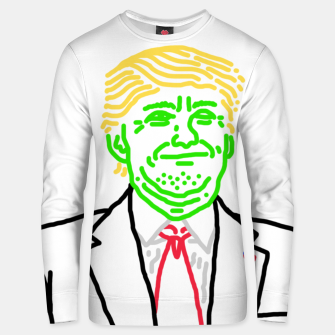 Thumbnail image of Trump vert Unisex sweater, Live Heroes
