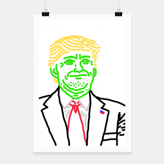 Thumbnail image of Trump vert Poster, Live Heroes