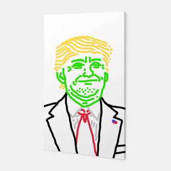 Thumbnail image of Trump vert Canvas, Live Heroes