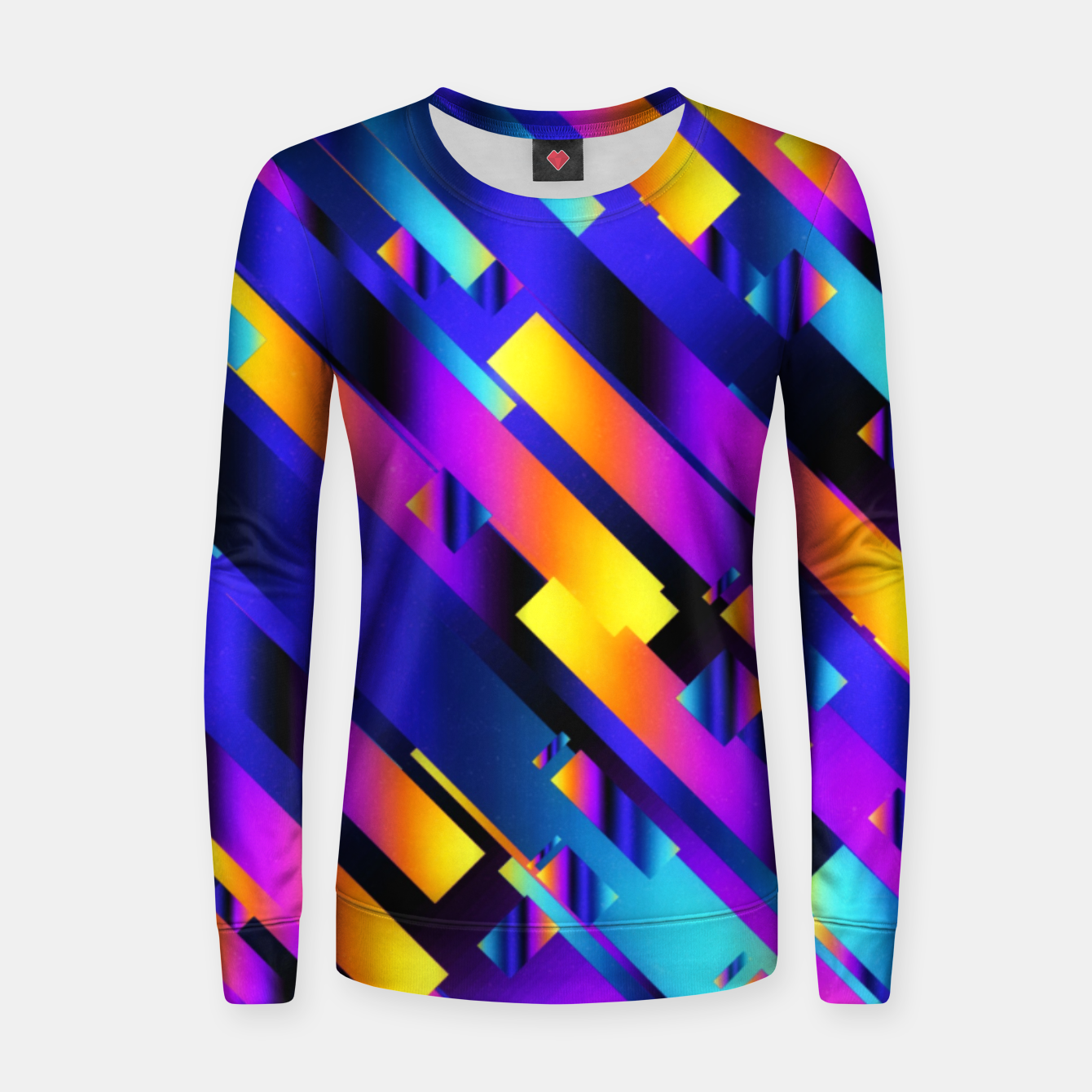 Imagen de Colorful Pipes Women sweater - Live Heroes