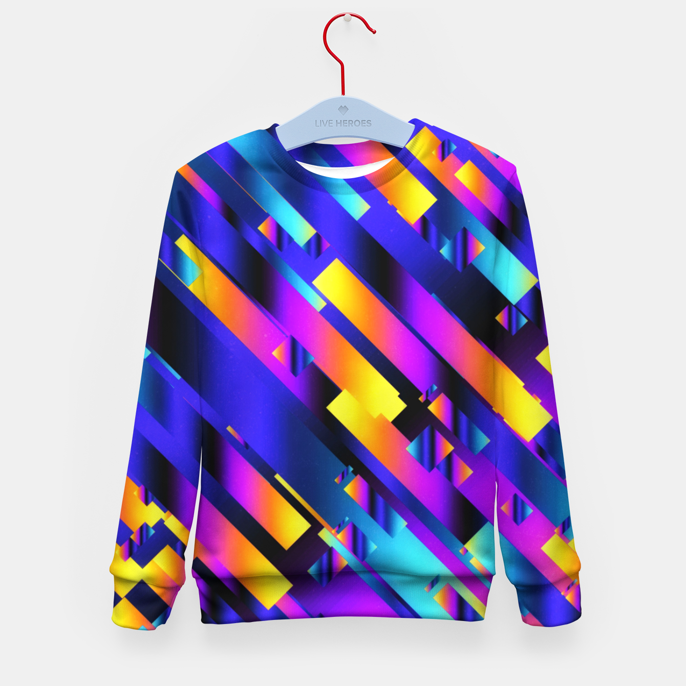 Imagen de Colorful Pipes Kid's sweater - Live Heroes