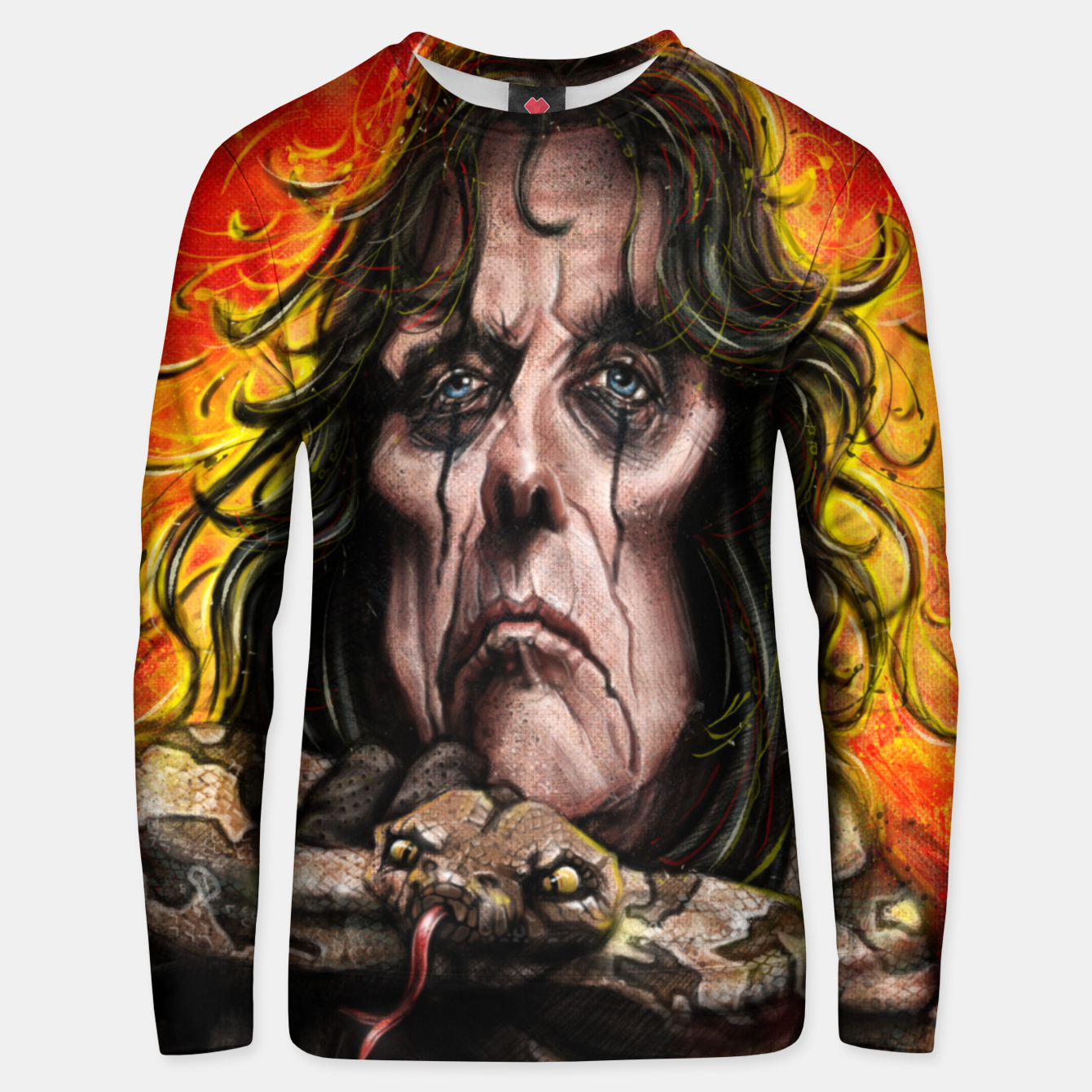 Image of Alice Cooper Unisex sweater - Live Heroes
