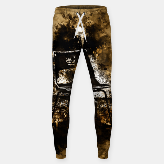 Thumbnail image of gxp chair at lost place splatter watercolor Sweatpants, Live Heroes