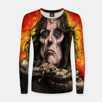 Thumbnail image of Alice Cooper Women sweater, Live Heroes
