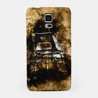 Thumbnail image of gxp chair at lost place splatter watercolor Samsung Case, Live Heroes