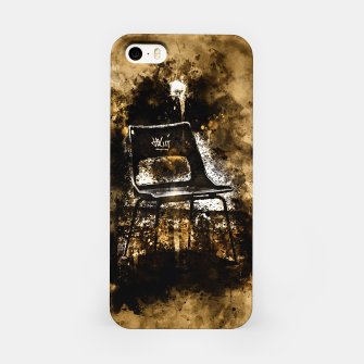 Thumbnail image of gxp chair at lost place splatter watercolor iPhone Case, Live Heroes