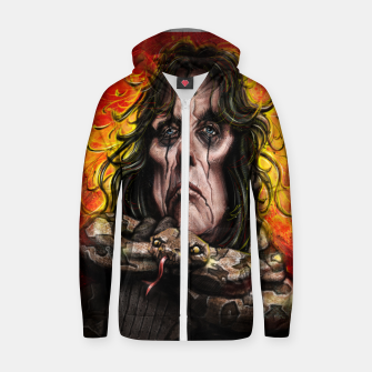 Thumbnail image of Alice Cooper Zip up hoodie, Live Heroes