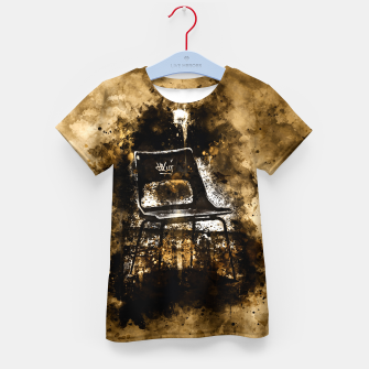 Thumbnail image of gxp chair at lost place splatter watercolor Kid's t-shirt, Live Heroes