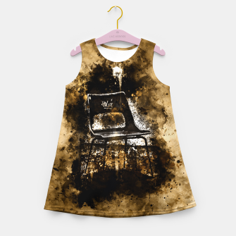 Thumbnail image of gxp chair at lost place splatter watercolor Girl's summer dress, Live Heroes