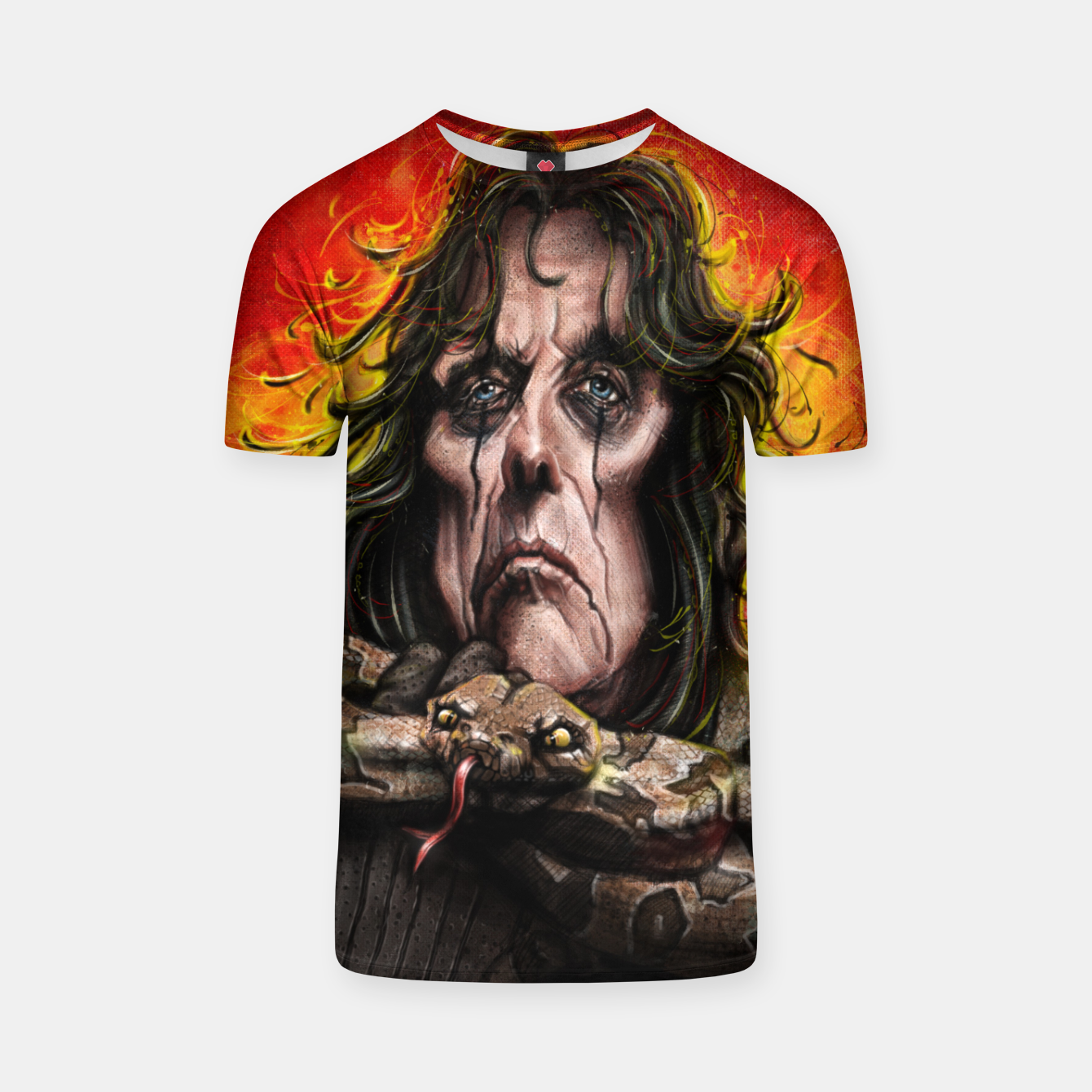 Image of Alice Cooper T-shirt - Live Heroes