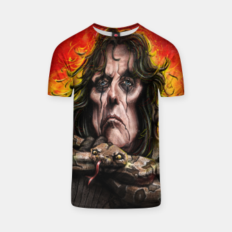 Thumbnail image of Alice Cooper T-shirt, Live Heroes