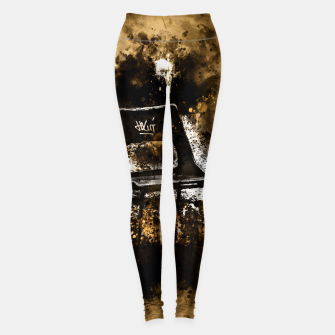 Thumbnail image of gxp chair at lost place splatter watercolor Leggings, Live Heroes