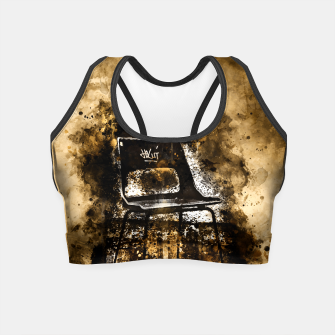 Thumbnail image of gxp chair at lost place splatter watercolor Crop Top, Live Heroes