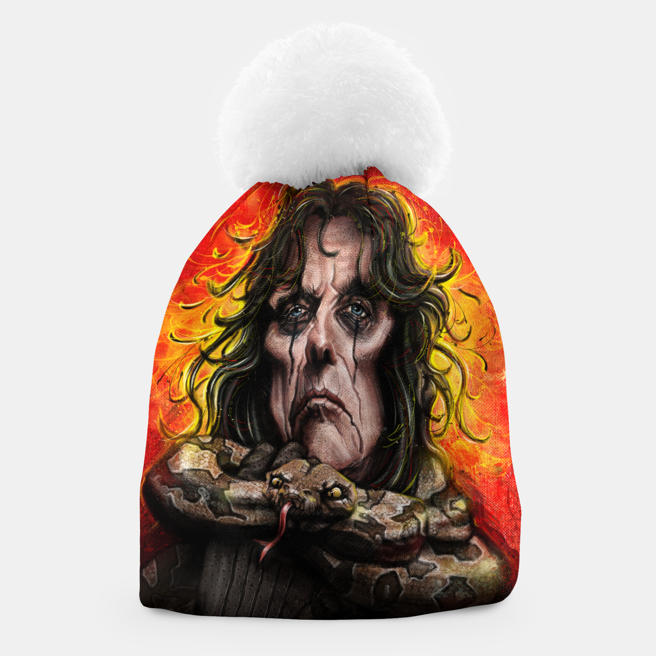 Image of Alice Cooper Beanie - Live Heroes