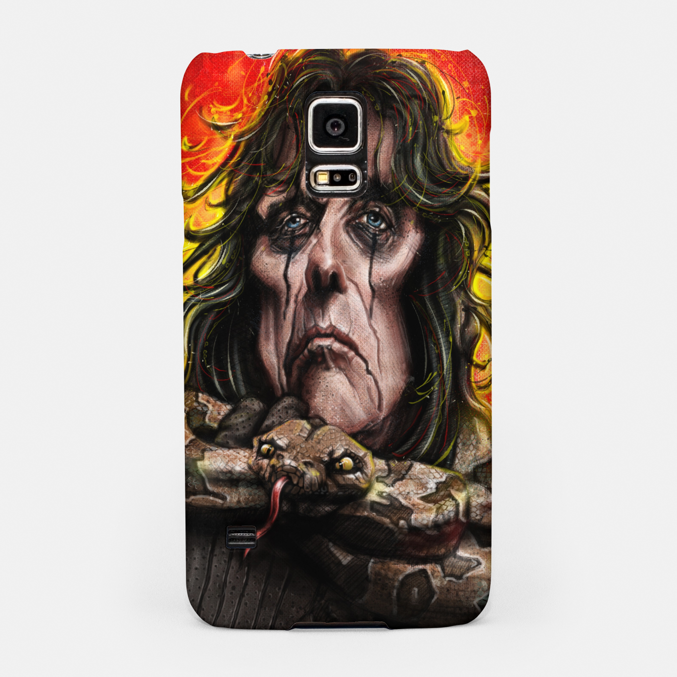 Image of Alice Cooper Samsung Case - Live Heroes