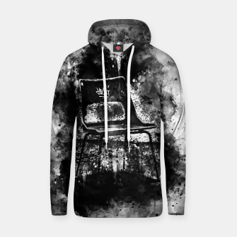 Thumbnail image of gxp chair at lost place splatter watercolor black white Hoodie, Live Heroes