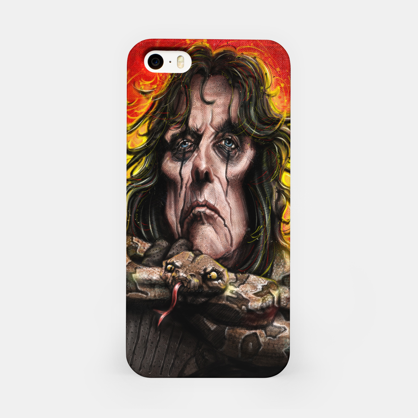 Image of Alice Cooper iPhone Case - Live Heroes