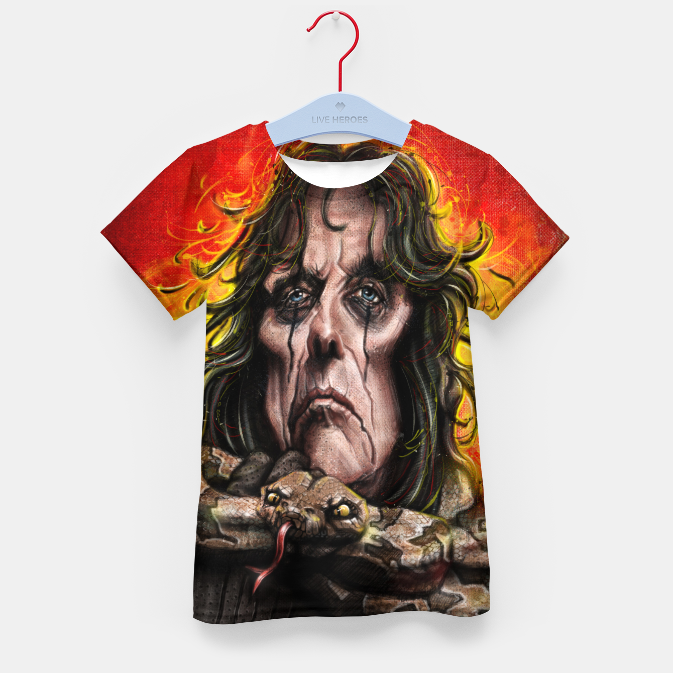 Image of Alice Cooper Kid's t-shirt - Live Heroes