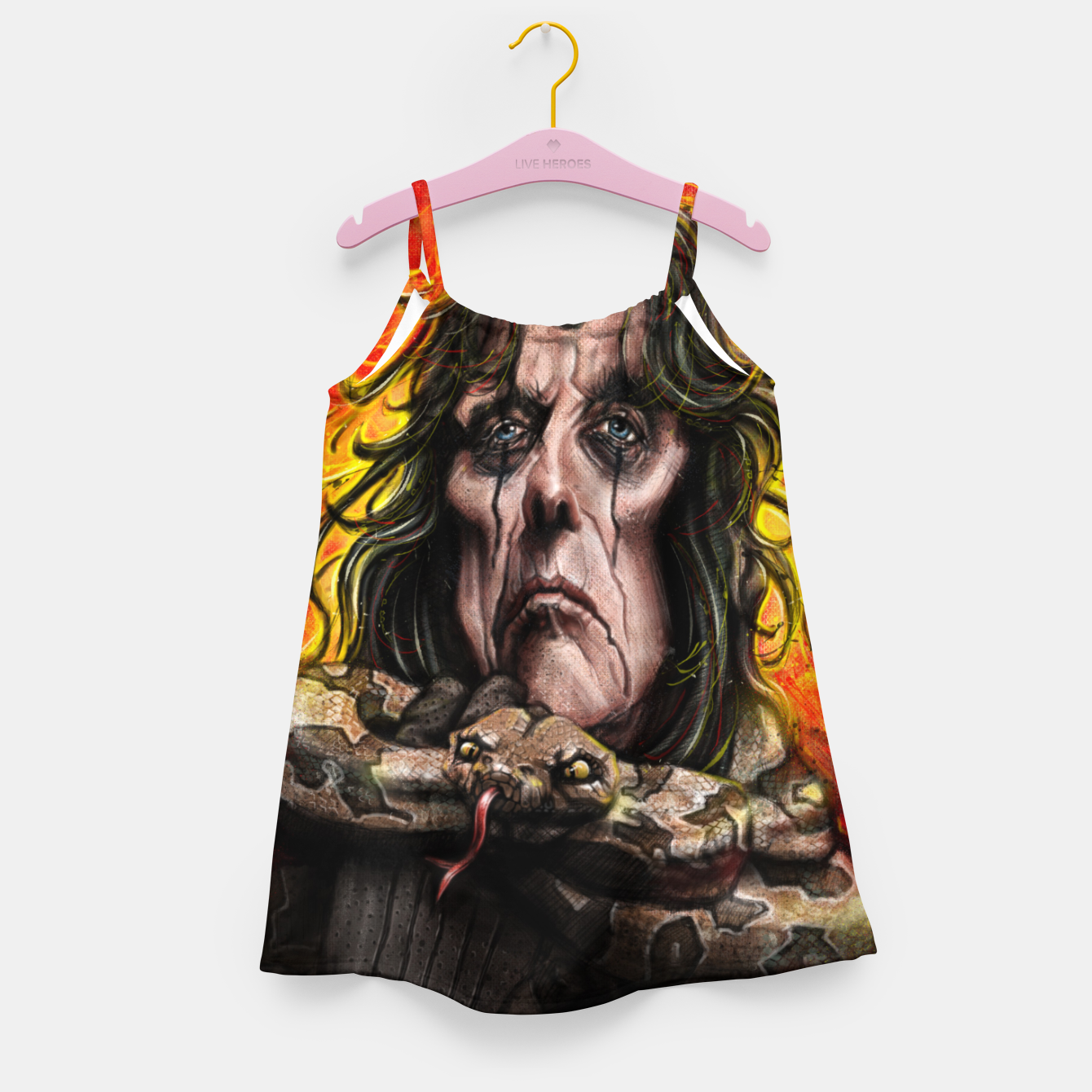 Image of Alice Cooper Girl's dress - Live Heroes