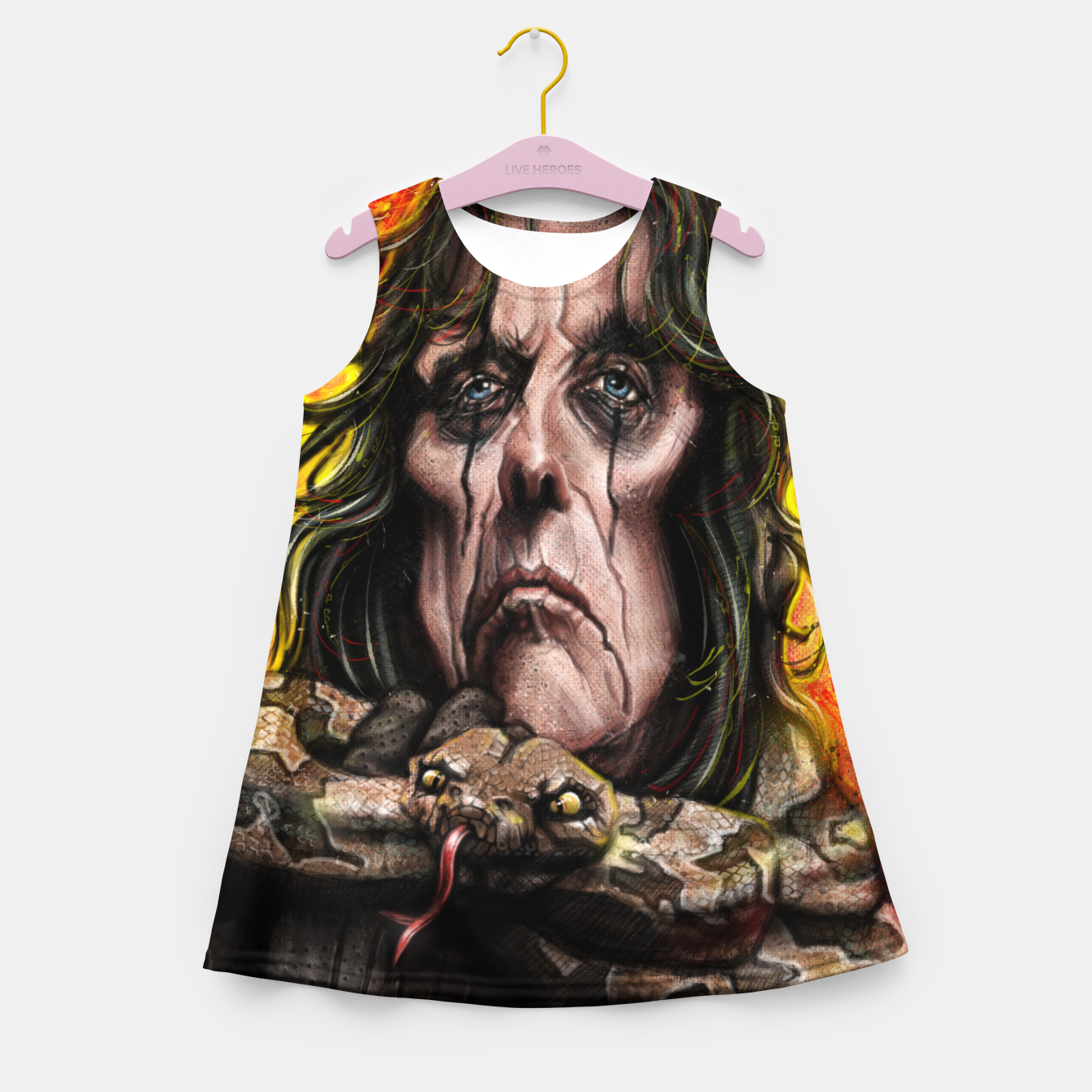 Image of Alice Cooper Girl's summer dress - Live Heroes