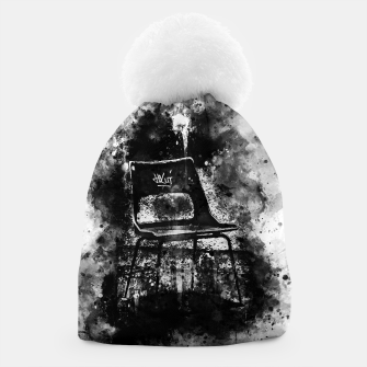 Thumbnail image of gxp chair at lost place splatter watercolor black white Beanie, Live Heroes