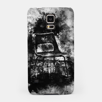 Thumbnail image of gxp chair at lost place splatter watercolor black white Samsung Case, Live Heroes