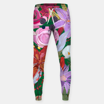 Thumbnail image of Lily and colorful pretty flowers  Sweatpants, Live Heroes