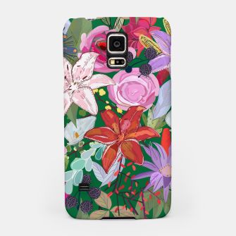 Thumbnail image of Lily and colorful pretty flowers  Samsung Case, Live Heroes