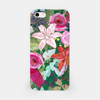 Thumbnail image of Lily and colorful pretty flowers  iPhone Case, Live Heroes