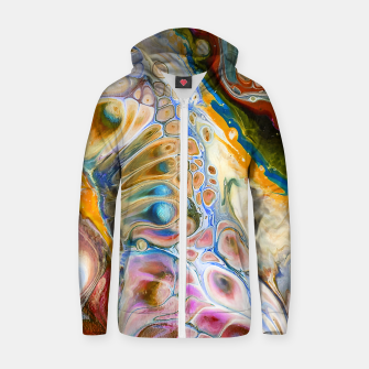 Thumbnail image of Abstract Beauty Zip up hoodie, Live Heroes
